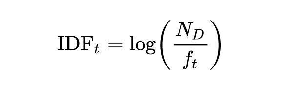 IDF-Formel