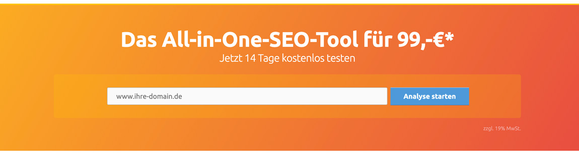 XOVI All-in-One SEO Tool 99 Euro