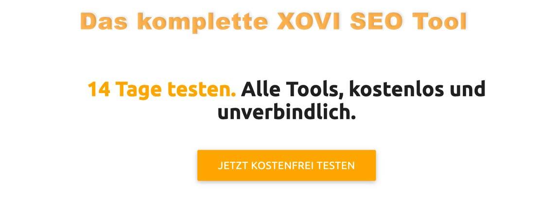 XOVI Test Account